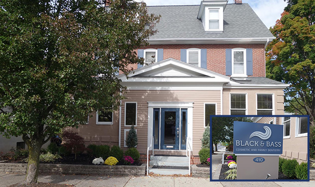 Photo of the Black & Bass Cosmetic and Family Dentistry office, located in Lansdale, PA.